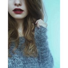 fluffy sweater //love//
