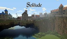 Solitude Map para Minecraft 1.3.2