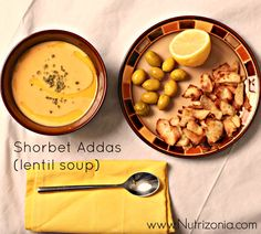Shorbet Addas (Red lentil soup) is a dish from Arabic cuisine. its an appetizer. It's healthy, #vegan, and #gluten free