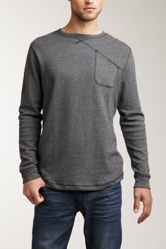 Comune Luther Long Sleeve Pullover Shirt