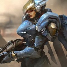 Pharah fan art from Overwatch Pharah and Overwatch are copyright Blizzard games Overwatch Pharah, Widowmaker, Overwatch Females, Power Rangers 2017, Ship Art, Character Drawing, Paladin, Random Drawings, Artwork