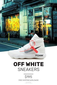 hot sale online 7a059 19504 Womens size the perfect Nike Off-White Air Hyperddunk   OW UA sneakers
