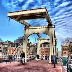 Good afternoon from Amsterdam (The Magere Brug)