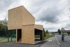 Bus Stop Kressbad / Rintala Eggertsson Architects