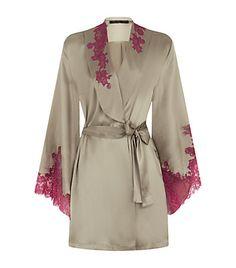 Marjolaine Rare Kimono Silk Robe | Harrods