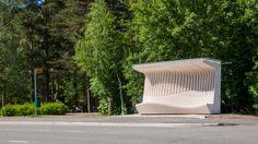 PuuDoo Bus Stop, Kouvola, Finland