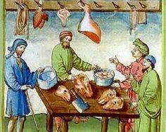 beenhouwer middeleeuwen - Google Search