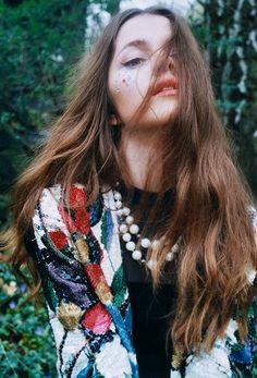 Material Girl Magazine, shot by Maria Zucker.