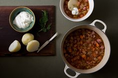 Find the recipe for Kielbasa and Cabbage Soup and other sausage recipes at Epicurious.com