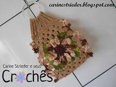 Carine Strieder e seus Crochês: Videoaula Porta Papel Higiênico de crochê