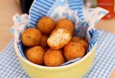PANELATERAPIA - Blog de Culinária, Gastronomia e Receitas: Bolinho de Risoto de Bacalhau