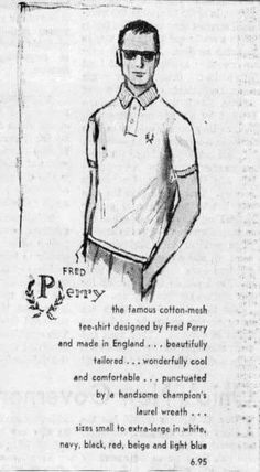 Two Tone Brogues, 60s Mod, Skinhead, Ivy League, Mod Fashion, Old Ads, Fred Perry, Classic, Bear