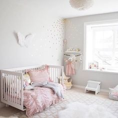 "1,516 Likes, 40 Comments - Project Nursery (@projectnursery) on Instagram: ""Crushing on this whimsical toddle room from @winterdaisykids. """