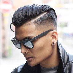 Side Swept Undercut Hairstyle