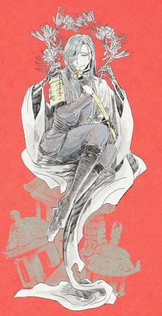 「ニッカリ青江重要美術品指定日」/「YUL/龍」のイラスト [pixiv]