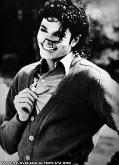Michael Jackson -- better days.
