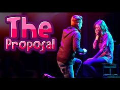 The Proposal: Joshua and Colleen THEY GOT ENGAGED AND IM SOBBING AGHHHHHH I LOVE THEMMM CONGRATS GUYS