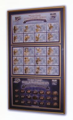 Winnipeg Blue Bombers Pin Set - Collectible Pin Set In: Custom Framing - Custom Framing Examples Winnipeg Blue Bombers, Custom Framing, Picture Frames, Holiday Decor, Pictures, Portrait Frames, Photos, Picture Frame, Frames
