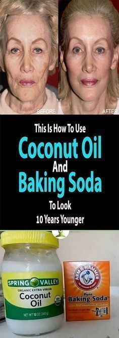 Coconut Oil and Baking Soda Face Mask to Look 10 Years Younger