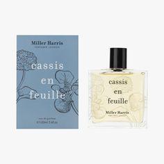 Eau de Parfum Cassis en Feuille, Miller Harris #LeBonMarche #FeteDesMeres #MotherDay #Cadeau #Maman #Love #Bleu #Blue