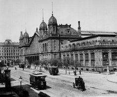 Nyugati 19. század vége - Budapest-Nyugati Railway Terminal