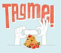 Tag Me T-Shirt Foodie Fun