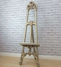 Silver #shabby chic art display picture wedding menu stand easel #mirror #large , View more on the LINK: http://www.zeppy.io/product/gb/2/192006705312/