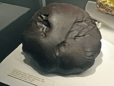 The beautiful Gross-Divina meteorite which fell in Slovakia in 1837.