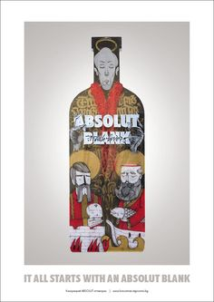 ABSOLUT TRASH LOVERS for ABSOLUT BLANK - Trash Lovers