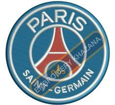 Paris Saint Germain FC logo Embroidery designs
