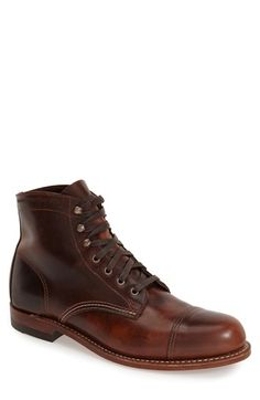 Wolverine '1000 Mile - McClean' Leather Cap Toe Boot (Men) (Nordstrom Exclusive) available at #Nordstrom