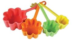 DCI Flower Measuring Cups, Set of 4 DCI $11