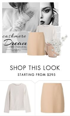 """""""Cashmere Love"""" by shyscreamx ❤ liked on Polyvore featuring Magdalena, Helmut Lang, Theory, Michael Kors and Love Quotes Scarves"""