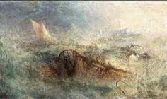 "JMW Turner  ""The Storm""  1845 Impressionism"