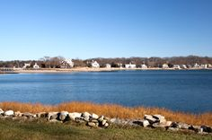 Long Island Sound in Connecticut; my hometown, Clinton, CT is one of many small towns along the coastline.