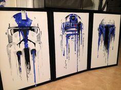 L'image du jour : 3 tableaux Star Wars à tomber par terre