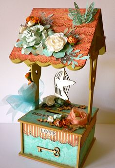 """Created for my DT work for Kaisercraft 2012-2013, using the """"periwinkle"""" paper collections"""