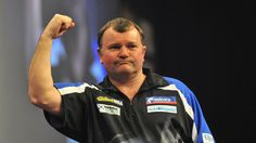 Phil Taylor felled by Terry Jenkins at Unibet Masters