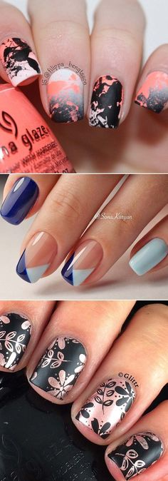 14 DIY Hacks for Super Pretty Nails Every girl wants to have pretty nails, but you don't have to go to a salon for creative nail designs. Here are some simple hacks you can do at home! Creative Nail Designs, Pretty Nail Designs, Diy Nail Designs, Simple Nail Designs, Creative Nails, Matte Nail Polish, Acrylic Nails, Pink Lipsticks, Manicure And Pedicure