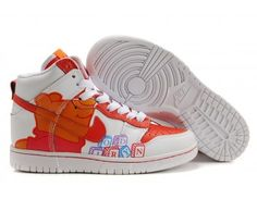 best loved 3ddc2 510f0 Nike Dunk High Womens Shoes - WhiteOrange - Wholesale  Outlet