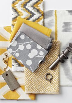 So many options for great fabrics in the bedroom!  Calico - Prospect Collection