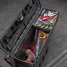 The SwingCase is a premium, affordable storage solution. It has a 75 lb weight capacity and it is backed by a 1 year warranty. Best Truck Tool Box, Truck Tools, Truck Storage Box, Truck Bed Rails, Affordable Storage, Thing 1, Come And See, Cool Trucks, Car Wash