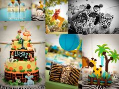 Safari Theme Party for The Perfect Lil' Boy!!