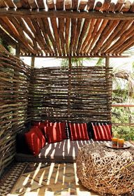 35 Unique Pergola Cover Ideas 2020 - A Nest With A Yard wood logs., 35 Unique Pergola Cover Ideas 2020 - A Nest With A Yard wood logs for a pergola cover There are many things which can certainly ultimately. Patio Pergola, Backyard Gazebo, Wood Pergola, Garden Gazebo, Backyard Landscaping, Rustic Pergola, Modern Pergola, Backyard Pavilion, Pallet Pergola