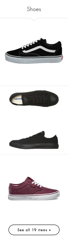 """""""Shoes"""" by martinezjennett ❤ liked on Polyvore featuring shoes, sneakers, vans, zapatos, black, kohl shoes, vans trainers, black shoes, patterned shoes and vans sneakers"""