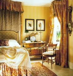 English Country Bedroom bedroombritish interior designer nina campbell. at the age of