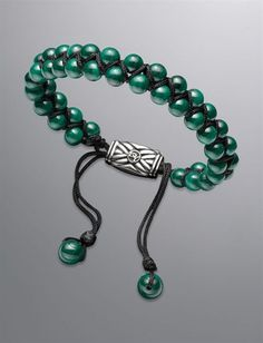 David Yurman | Men | Bracelets: Spiritual Bead Bracelet, Malachite