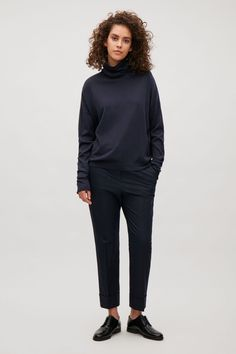 COS | Roll-neck with elongated sleeves