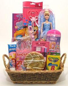 Princess Girl Gift Baskets Themed Raffle Diy Xmas Gifts