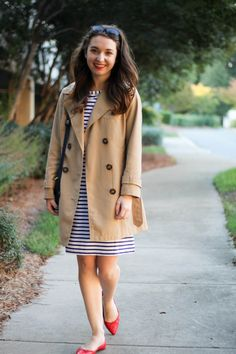 Caralina Style: Fall Transition in Stripes